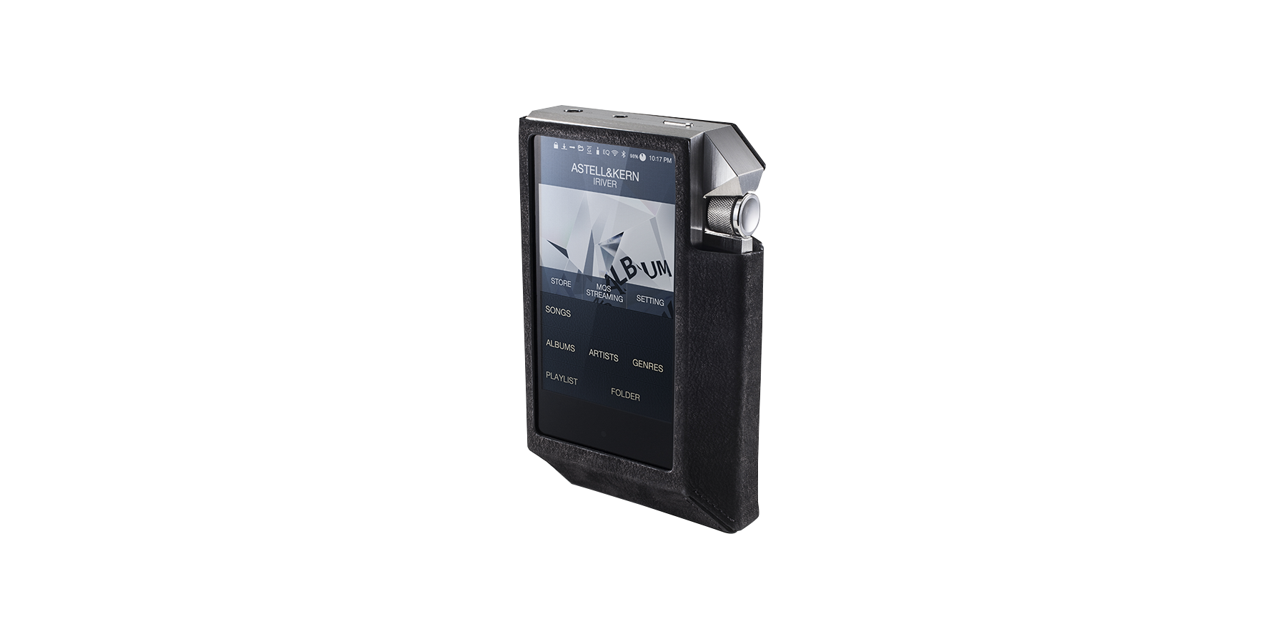 AK240SS (Stainless Steel Version)-Portable Player-Astell ... Video Player Png